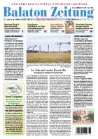Balaton Zeitung Cover Februar 2007