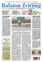 Balaton Zeitung Cover Januar 2007