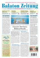 Balaton Zeitung Cover Juli 2007