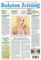 Die Balaton Zeitung Cover Juni 2007