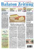 Balaton Zeitung Cover März 2007