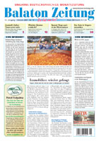 Balaton Zeitung Cover Oktober 2007