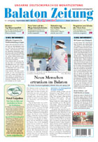 Balaton Zeitung Cover September 2007