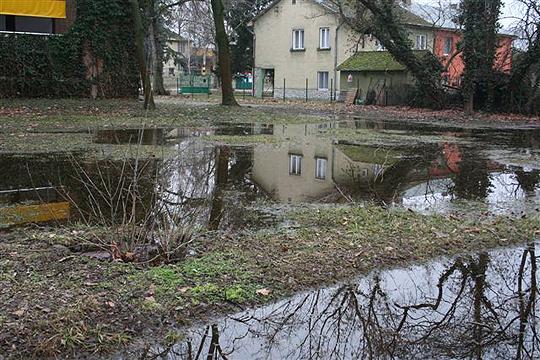 Hochwasser am Balaton