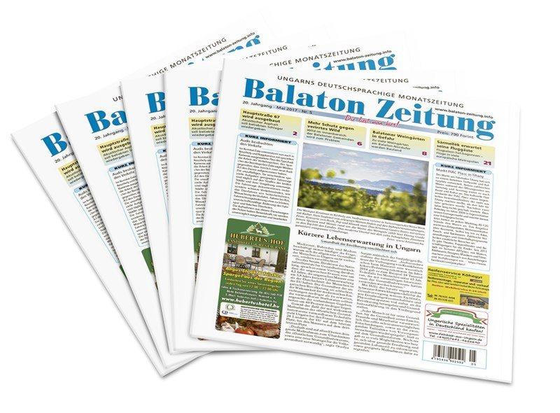 Balaton Zeitung Mai 2017 - Kürzere Lebenserwartung in Ungarn