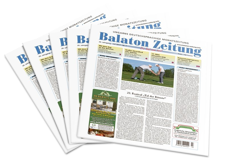Balaton Zeitung Juli 2017