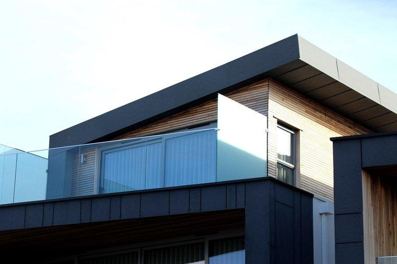Ansicht einer Immobilie
