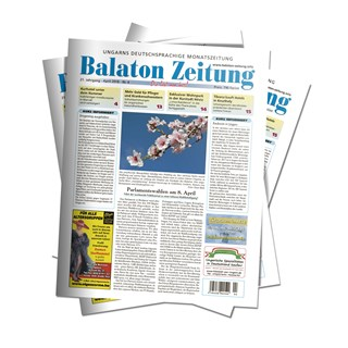 Balaton Zeitung April 2018 - Parlamentswahlen am 8. April 2018