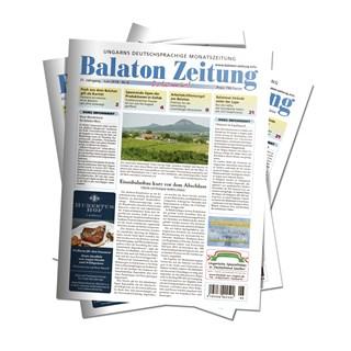 Balaton Zeitung Juni 2018 - Eisenbahnbau kurz vor dem Abschluss