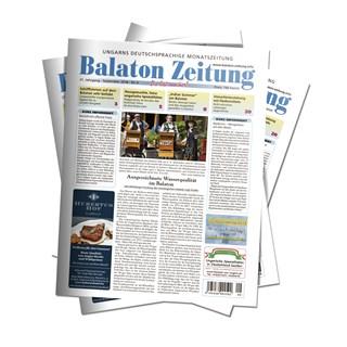 Balaton Zeitung September 2018 - Ausgezeichnete Wasserqualität im Balaton