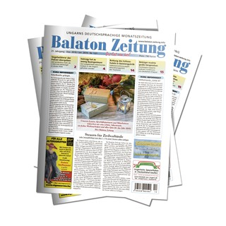 Balaton Zeitung Dezember 2018 - Januar 2019: Steuern für Zivilverbände