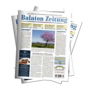 Balaton Zeitung April 2019 - Mandelblütenfest in Balatonakali
