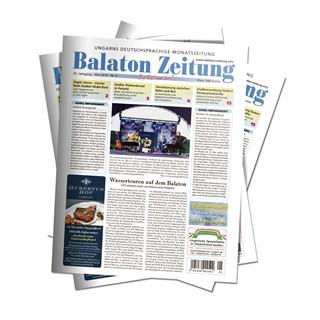 Balaton Zeitung Mai 2019 - Wassertouren auf dem Balaton