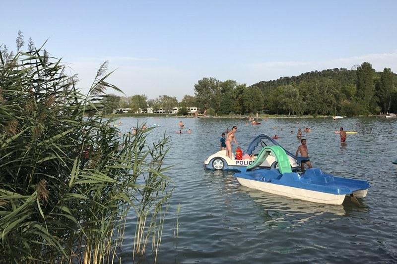 Badespaß am Balaton, Foto: Sebastian Starke