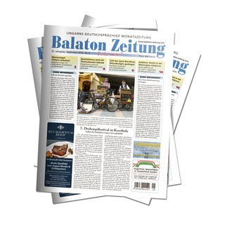 Balaton Zeitung September 2019 - 7. Drehorgelfestival in Keszthely