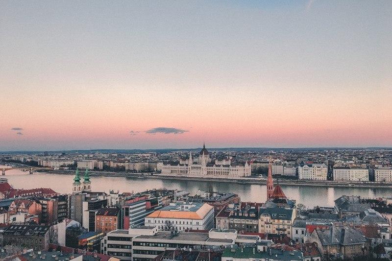 Panoramablick über Budapest