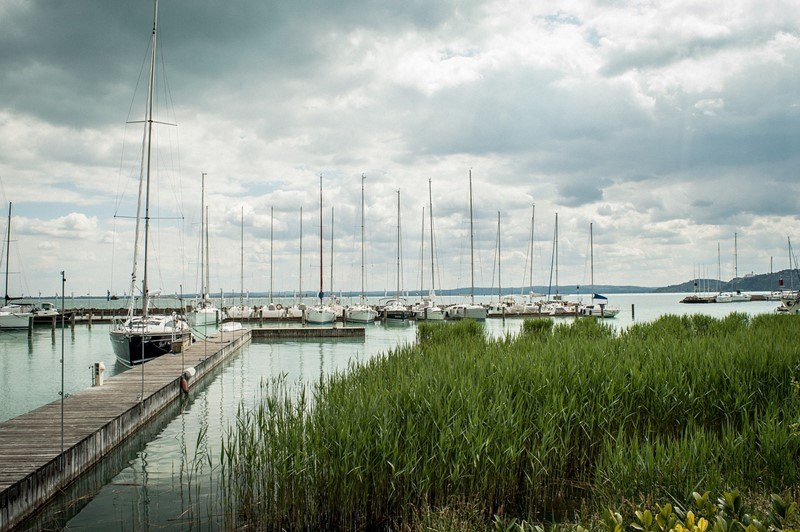 Yacht-Anleger am Balaton