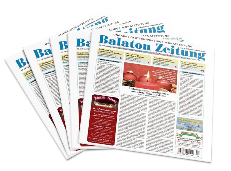Balaton Zeitung - Dezember 2019 - Januar 2020 - Lohnenswerte Ausflugsziele am winterlichen Balaton