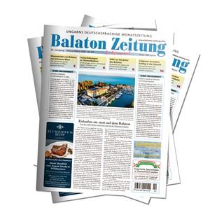 Balaton Zeitung - Februar und März 2020 - Eislaufen am statt auf dem Balaton
