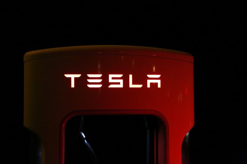 Strom-Tankstelle von Tesla