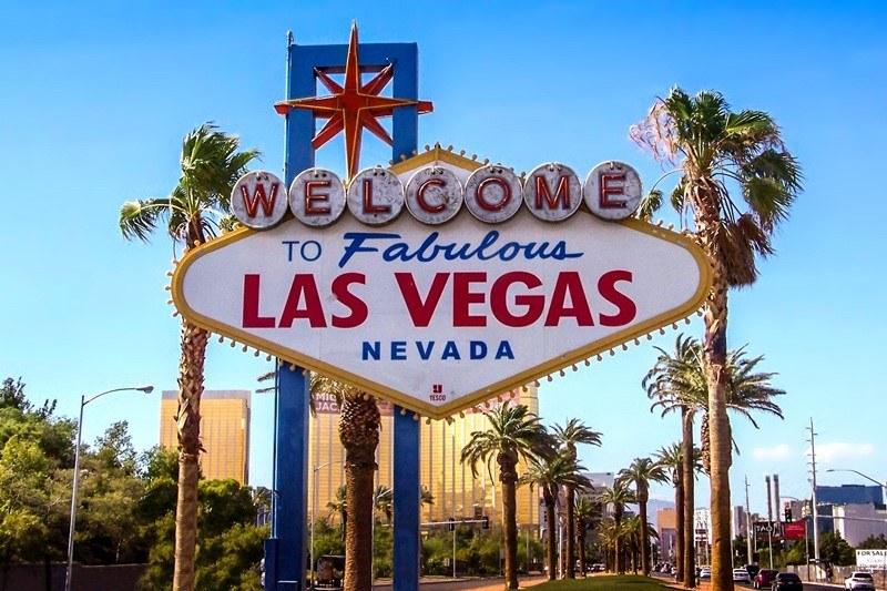 Welcome to fabulous Las Vegas - Schild