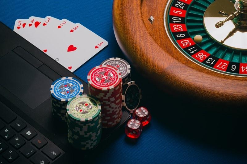 Roulette und Karten