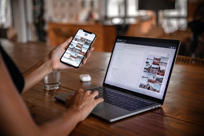 Video- und Bildbarbeitung an Smartphone und Computer