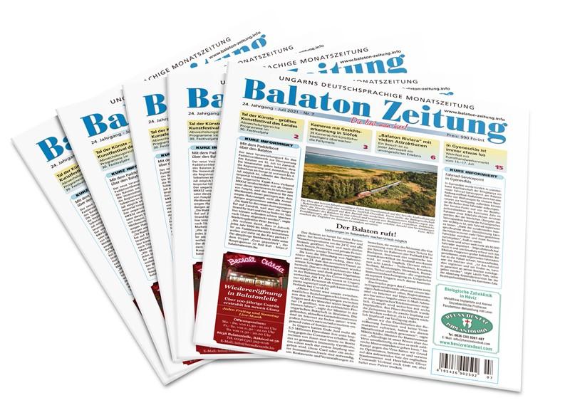 Der Balaton ruft!