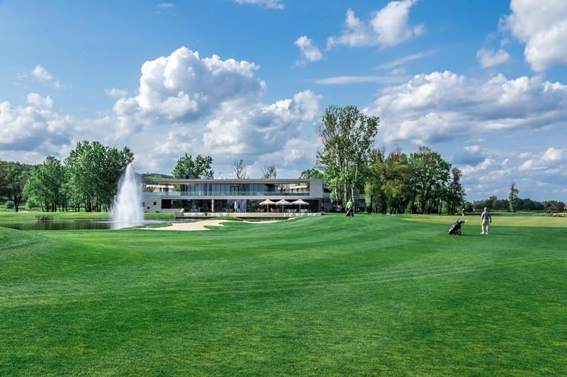Das Clubhaus im Zala Springs Golf Resort