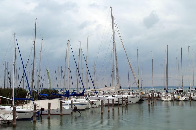 Yachthafen in Keszthely