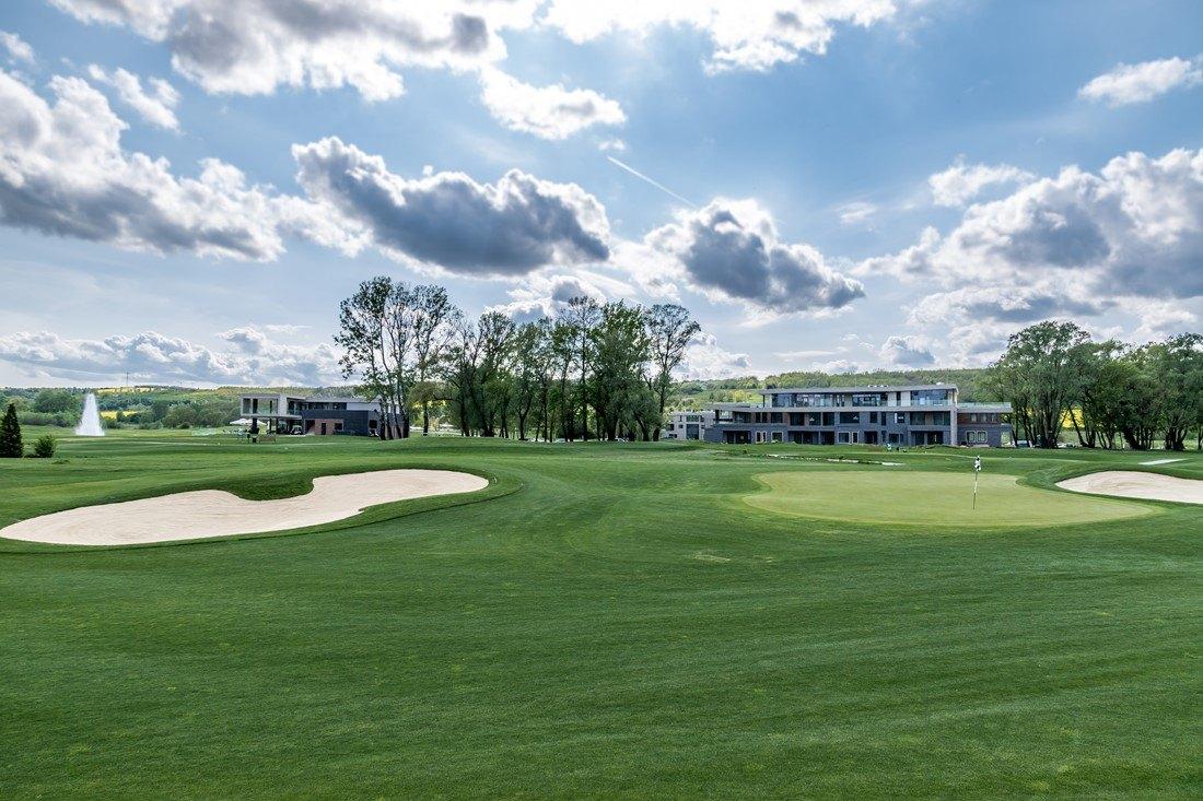 Blick auf den Zala Springs Golfplatz